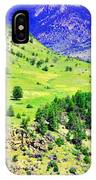 Wyoming Hillside IPhone Case