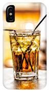 X Marks The Drink IPhone Case