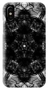 X-ray Of A Snowflake IPhone Case