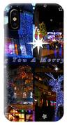 Xmas Greeting Collage IPhone Case