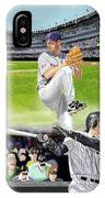 Yankees Vs Indians IPhone Case