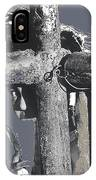 Yaqui Child Snow Cone New Pascua Arizona 1969 IPhone Case