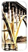 Yaquina Bay Bridge - Series G IPhone Case