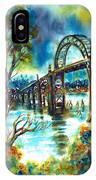Yaquina Bay Bridge IPhone X Case