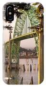 Yaquina Bay Bridge Morning Light IPhone Case