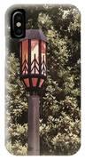 Ye Olde Street Lamp IPhone Case