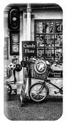 Ye Olde Sweet Shoppe Mono IPhone Case