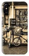 Ye Olde Sweet Shoppe Sepia IPhone Case