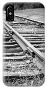 Ye Olde Tracks IPhone Case