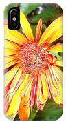 Floral Grunge IPhone Case
