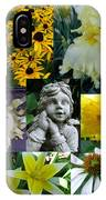 Yellow And White Flower Collage IPhone Case
