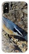 Yellow Bellied Nuthatch IPhone Case
