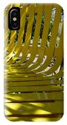 Yellow Bench IPhone Case