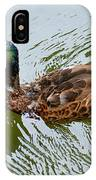Yellow Billed Duck IPhone Case