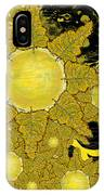 Yellow Bird Sings In The Sunflowers IPhone Case