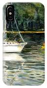 Yellow Boat Sister Bay IPhone Case