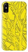 Yellow Branches IPhone Case