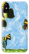 Yellow Butterflies - Spring Art By Sharon Cummings IPhone Case