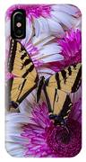 Yellow Butterfly Resting IPhone Case