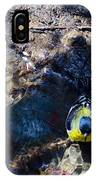 Yellow Chested Birdy IPhone Case