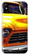 Yellow Chevy IPhone X Case