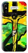 Yellow Christ  After Gauguin IPhone Case