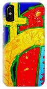 Yellow Circle IPhone Case