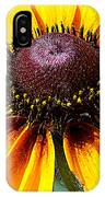 Yellow Close Up IPhone Case