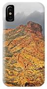 Yellow Colored Rock Along The Apache Trail IPhone Case