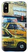 Yellow Congestion IPhone Case