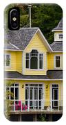 Yellow Cottage IPhone Case