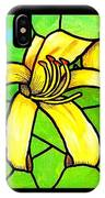 Yellow Day Lily IPhone Case