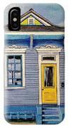 Yellow Door Shotgun  IPhone Case