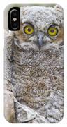 Yellow Eyes IPhone Case