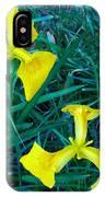 Yellow Flag Iris IPhone Case