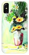 Yellow Flowers 1 IPhone Case