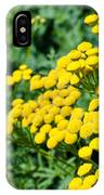 Yellow Flowers 3 IPhone Case