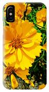 Yellow Flowers Cape Cod IPhone Case