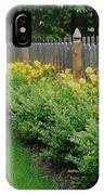 Yellow Flowers In Bloom IPhone Case