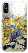 Yellow Flowers IPhone Case