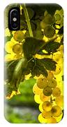 Yellow Grapes In Sunshine IPhone Case