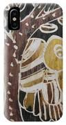 Yellow Head Brown Owl Bird On The Tree IPhone Case