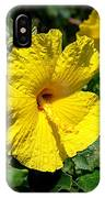 Yellow Hibiscus Hawaii State Flower IPhone Case