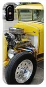 Yellow Hot Rod IPhone Case