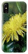 Yellow In The Rain IPhone Case