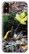 Yellow Leaf IPhone Case