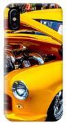 Yellow Machine IPhone Case