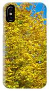 Yellow Maple IPhone Case