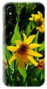 Yellow Mountain Flowers IPhone Case