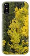 Yellow On Green IPhone Case